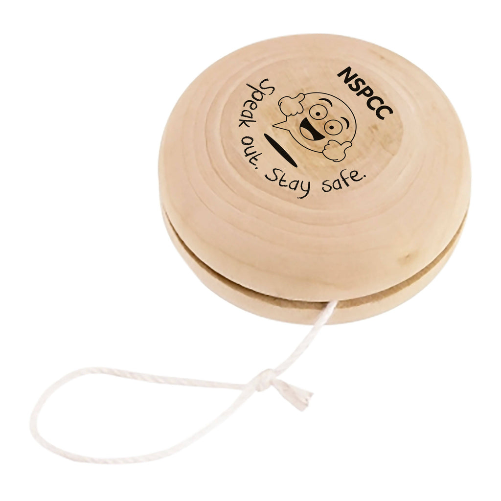 BUDDY wooden yo-yo