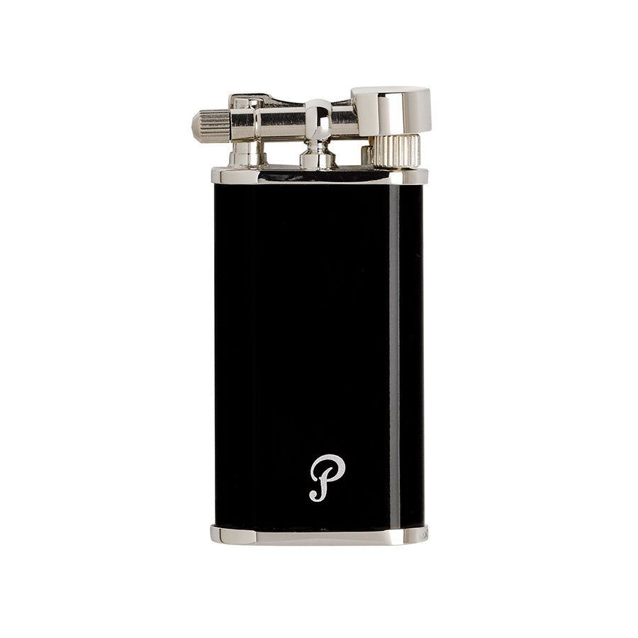 Polished Black Pipe Lighter