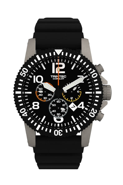 CoPilot Chronograph / Stainless / Quartz (NEW) - Trintec Industries Inc.