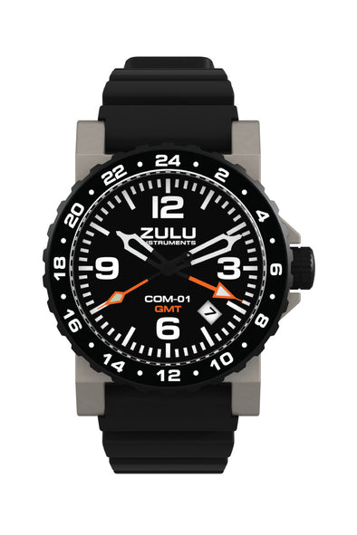 COM-01 GMT - Stainless - Front