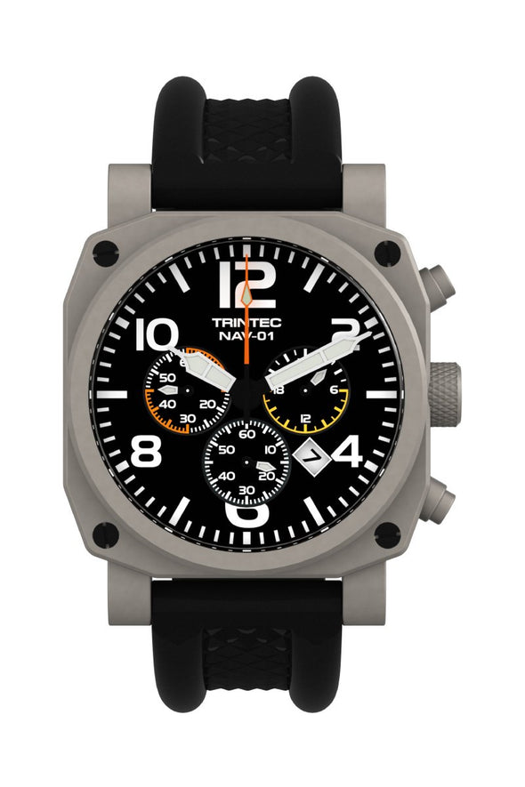 NAV-01 Chronograph / Stainless / Quartz (NEW) - Trintec Industries Inc.