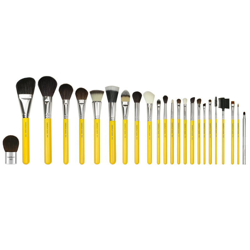 Studio Luxury 24pc. Brush Set with Roll-up Pouch - Bdellium Tools