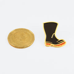 Enamel Boot Pin
