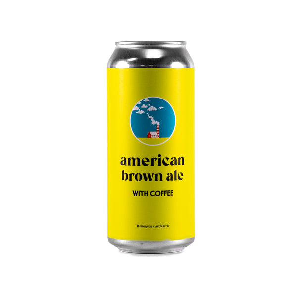 American Brown Ale with Coffee