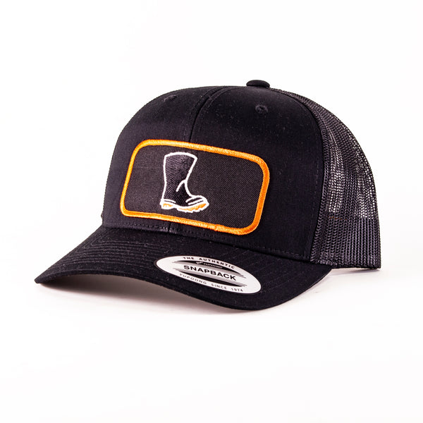 Wellington Boot Patch Trucker Hat