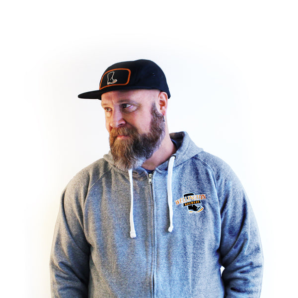 Wellington Zip-up hoodie