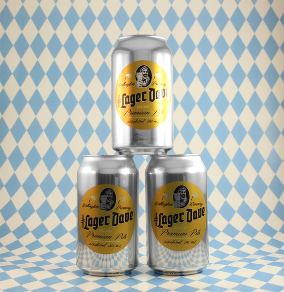 #LagerDave Pils - 6x 355mL cans