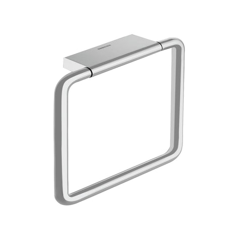 COSMIC Project Towel Ring, Wall Mount, Brass Body, Chrome Finish, 7-7/8 x 7-7/8 x 2 Inches (2510172)