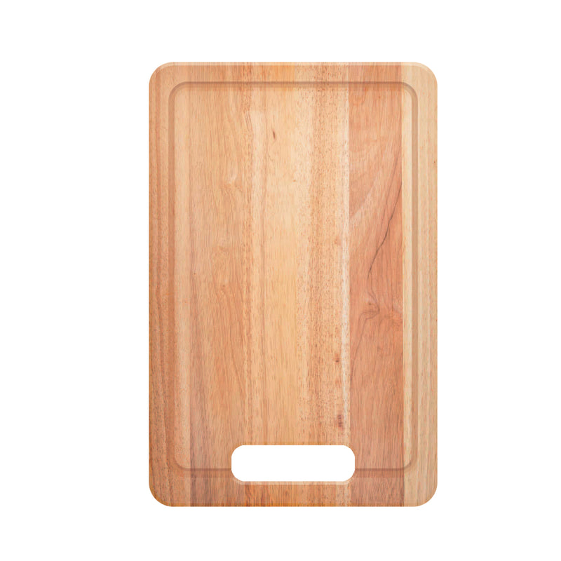 Dax Kitchen Cutting Board, Wood Body, Wood Finish, 16-3/4 X 10-1/2 X 1 Inches (CUTING-BOARD)
