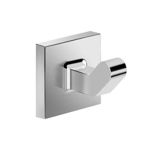 DAX Milano Towel Hook, Wall Mount, Stainless Steel, Brushed Finish, 1-3/4 x 2 x 1-3/4 Inches (DAX-GDC160121-BN)