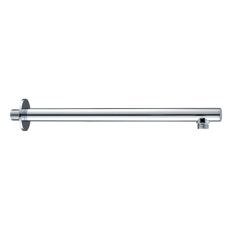 Dax Brass Round Shower Arm 15 Inches Chrome Finish (DAX-1053-365-CR)