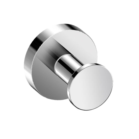 DAX Valencia Towel Hook, Wall Mount Stainless Steel, Chrome Finish, 2 x 1-11/16 x 2 Inches (DAX-GDC120121-CR)