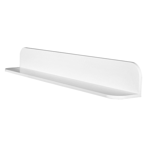DAX Solid Surface Bathroom Shelf, Wall Mount, White Matte Finish, 35-7/16 x 4-3/4 x 4-3/4 Inches (DAX-AB-1560-35)