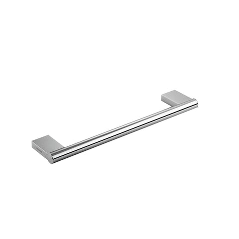 COSMIC Project Single Towel Bar, Wall Mount, Brass Body, Chrome Finish, 15-3/4 x 7/8 x 3-1/8 Inches (2510164)