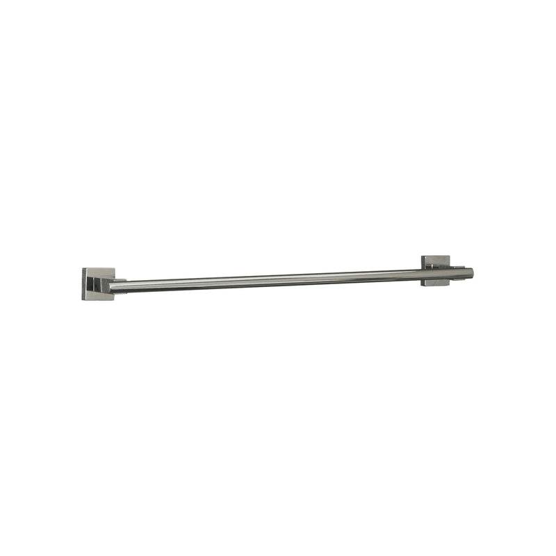DAX Single Towel Bar, Wall Mount Stainless Steel, Satin Finish, 19-11/16 x 1-5/8 x 2-13/16 Inches (DAX-G0103-S-20)