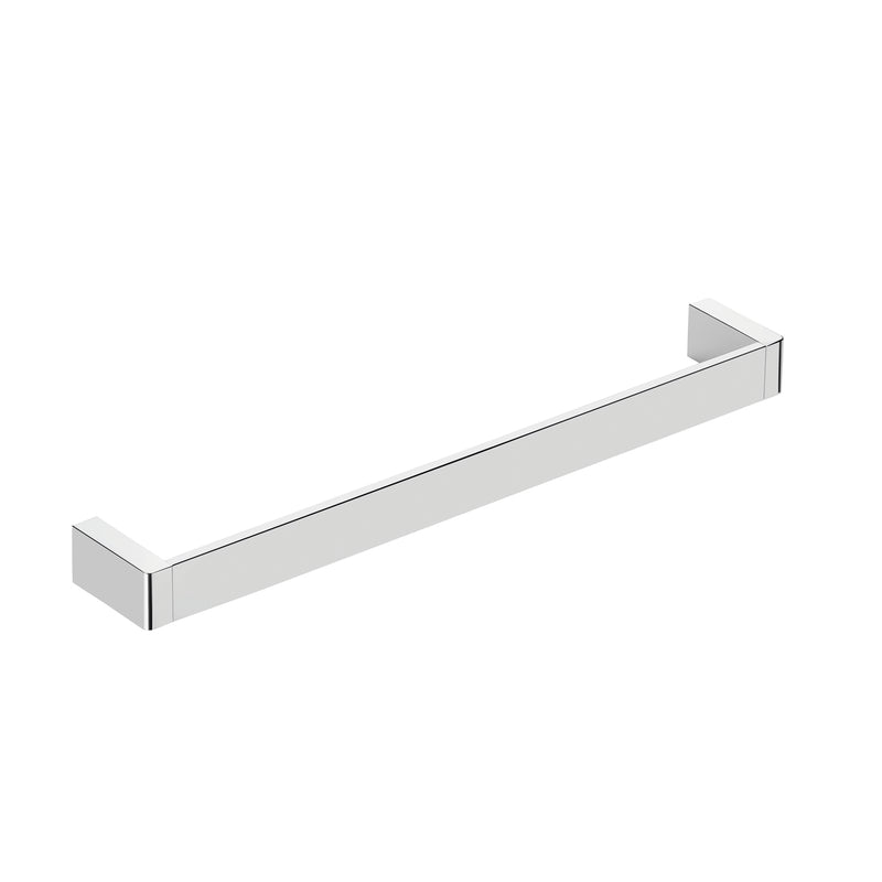 COSMIC Extreme Single Towel Bar, Wall Mount, Brass Body, Chrome Finish, 17-3/4 x 1-3/8 x 2-3/4 Inches (2530164)