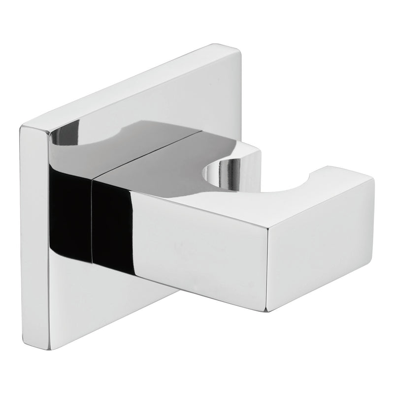 Dax Brass Square Shower Holder Brushed Nickel Finish (DAX-080-BN)