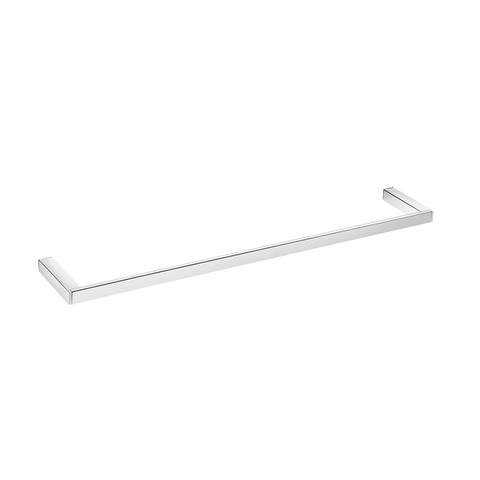 COSMIC Bathlife Single Towel Bar, Wall Mount, Brass Body, Chrome Finish, 23-5/8 x 13/16 x 3-5/16 Inches (2290164)