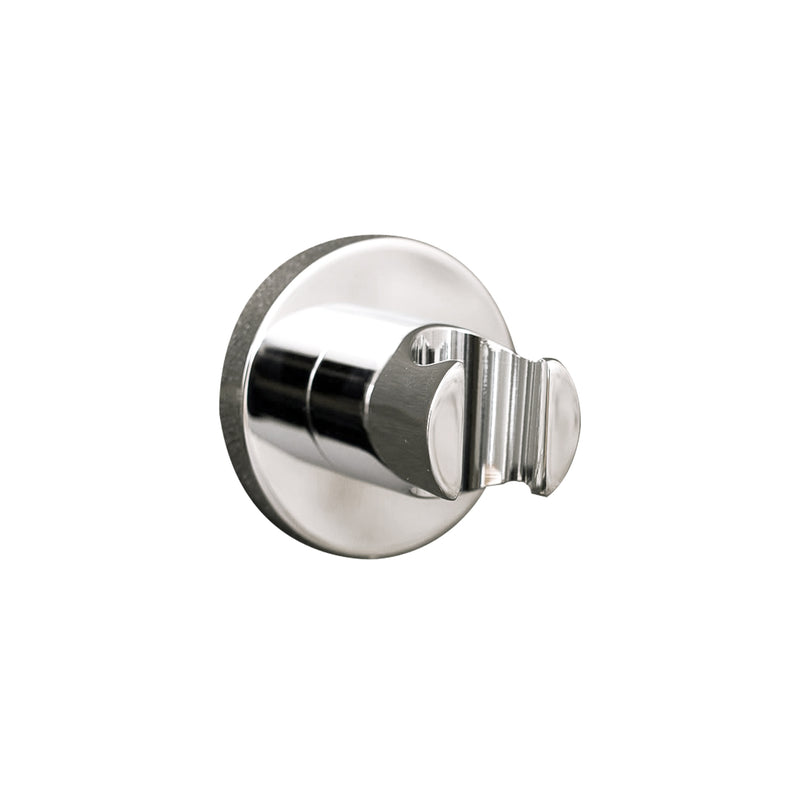 DAX Hand Held Shower Holder, Round Line, Wall Mount , Brass Body, Chrome Finish, 2-3/8 Inches (DAX-8873)