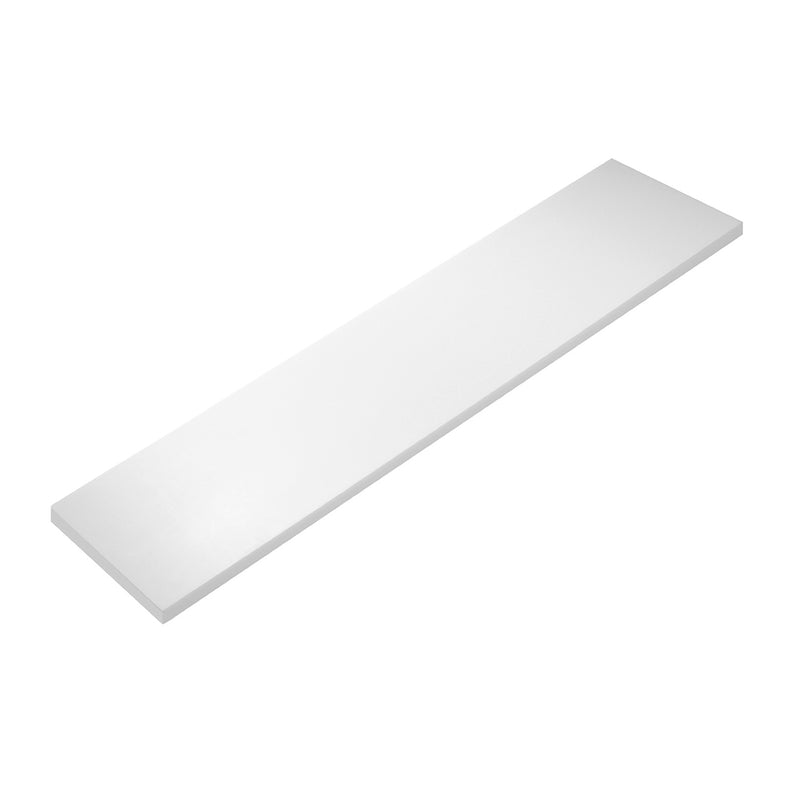 COSMIC Bathlife Bathroom Shelf, Wall Mount, Synthetic Resin, White Finish, 23-5/8 x 1/2 x 4-11/16 Inches (2290546)