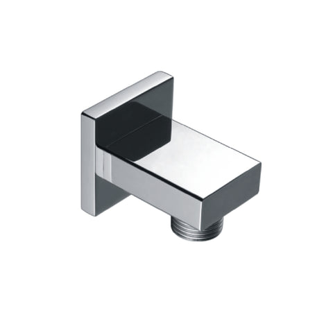 DAX Shower Outlet Elbow, Wall Mount, Brass Body, Chrome Finish, 1-3/4 x 9/16 x 1-3/4 Inches (DAX-CZ005)