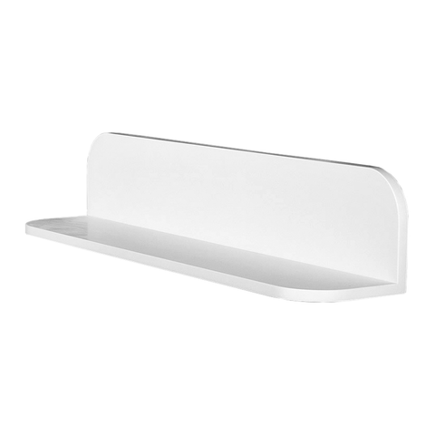 DAX Solid Surface Bathroom Shelf, Wall Mount, White Matte Finish, 23-5/8 x 4-3/4 x 4-3/4 Inches (DAX-AB-1560-24)