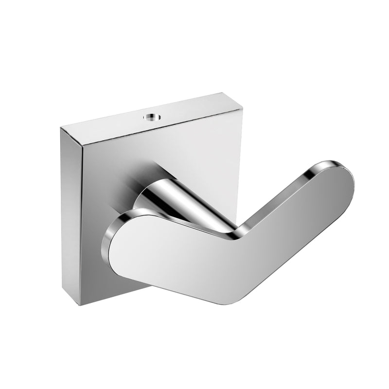 DAX Milano Towel Hook, Wall Mount Stainless Steel, Chrome Finish, 2-9/16 x 1-3/4 x 1-9/16 Inches (DAX-GDC160122-CR)
