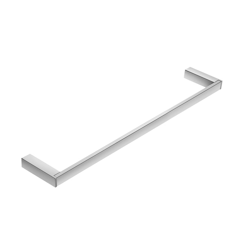 COSMIC Bathlife Single Towel Bar, Wall Mount, Brass Body, Chrome Finish, 17-3/4 x 13/16 x 3-5/16 Inches (2290169)