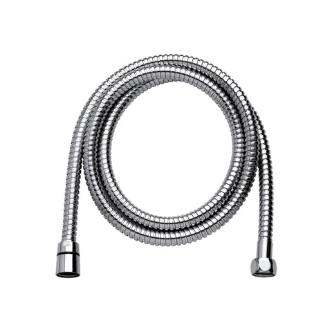 DAX Shower Hose, Rubber Body, Chrome Finish, Long 60-1/2 Inches (D-H34-CR)