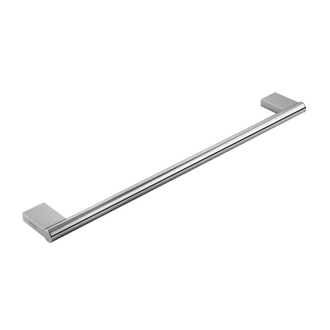 COSMIC Project Single Towel Bar, Wall Mount, Brass Body, Chrome Finish, 23-5/8 x 7/8 x 3-1/8 Inches (2510165)