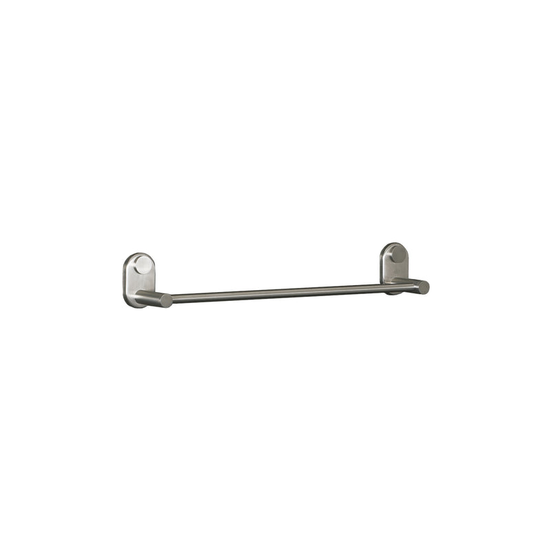 DAX Single Towel Bar, Wall Mount Stainless Steel, Polish Finish, 18 x 2-3/4 x 3-1/8 Inches (DAX-G0203-P-18)