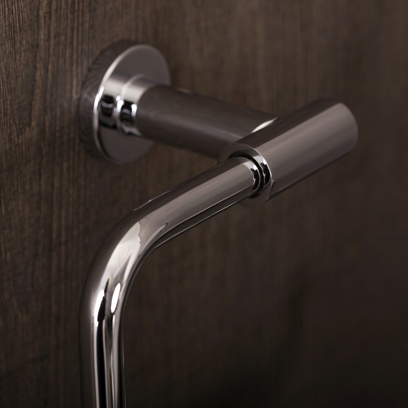COSMIC Architect Towel Ring, Wall Mount, Brass Body, Chrome Finish, 8-7/8 x 6-5/16 x 3-3/8 Inches (2050172)