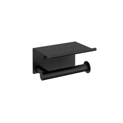 Architect SP paper holder with cover. Matte black (2353659)