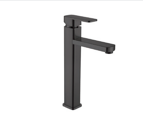 DAX Single Handle Bathroom Faucet - Matte Black Finish (DAX-6941B-BL)