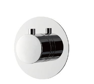 DAX Round Concealed 3 way diverter. Chrome Finish (DAX-1053-RD-CR)