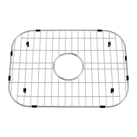 DAX Grid for Kitchen Sink, Stainless Steel Body, Chrome Finish, Compatible with DAX-2317, 19 x 14 Inches (GRID-2317)