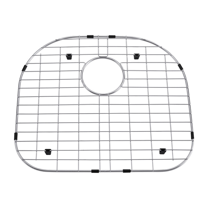 DAX Grid for Kitchen Sink, Stainless Steel Body, Chrome Finish, Compatible with DAX-2321, 19-3/4 x 17-1/2 Inches (GRID-2321)