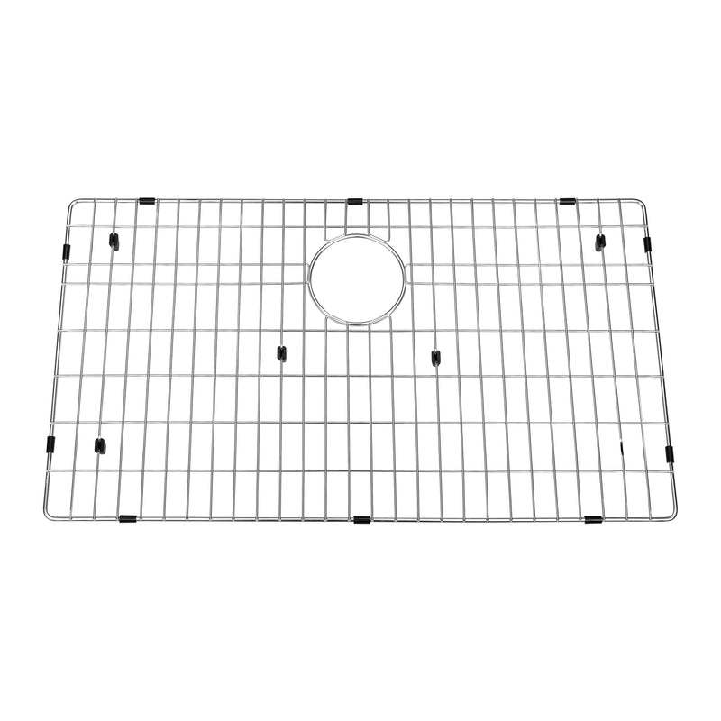 DAX Grid for Kitchen Sink, Stainless Steel Body, Chrome Finish, Compatible with DAX-3018B, 28-1/4 x 17-1/4 Inches (GRID-3018B)