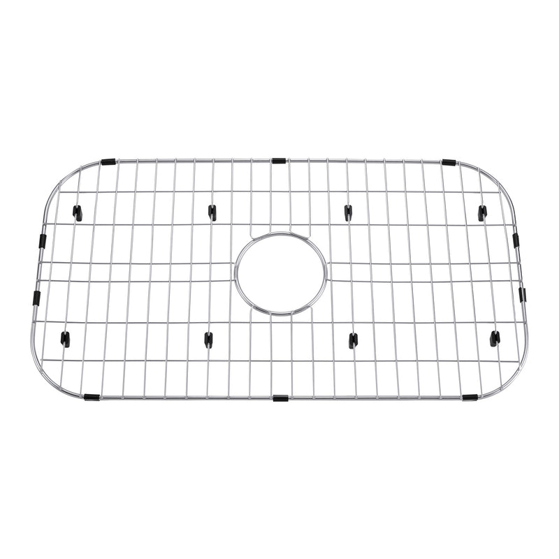 DAX Grid for Kitchen Sink, Stainless Steel Body, Chrome Finish, Compatible with DAX-3018, 28-1/4 x 17-1/4 Inches (GRID-3018)