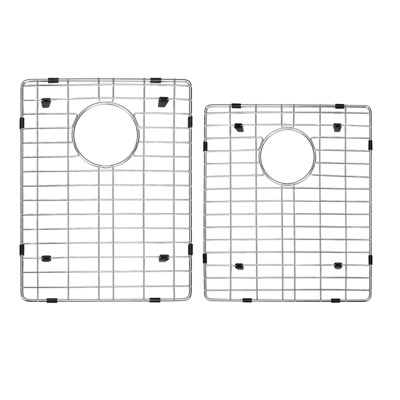 DAX Grid for Kitchen Sink, Stainless Steel Body, Chrome Finish, Compatible with DAX-3118B, 16-3/4 x 14-1/4 Inches (GRID-3118B)