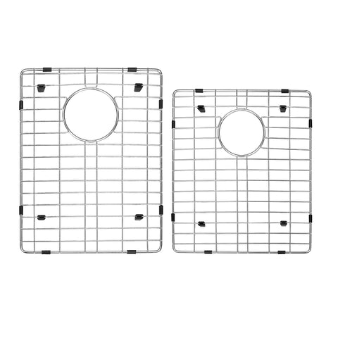 DAX Grid for Kitchen Sink, Stainless Steel Body, Chrome Finish, Compatible with DAX-3120B, 17-1/2 x 13-3/4 Inches (GRID-3120B)