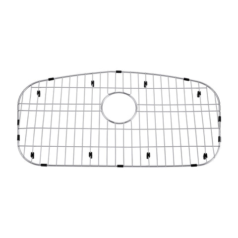DAX Grid for Kitchen Sink, Stainless Steel Body, Chrome Finish, Compatible with DAX-3319, 30-1/4 x 17-1/2 Inches (GRID-3319)