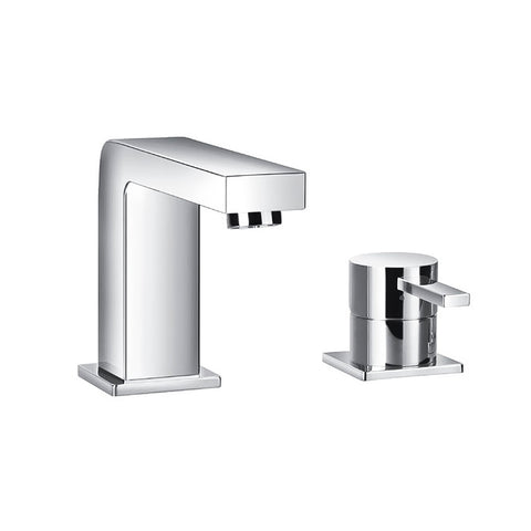 DAX Single Handle Bathroom Faucet, Brass Body, Chrome Finish, 7-1/2 x 5-1/2 Inches (DAX-8127)