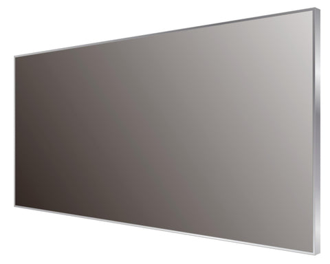 DAX Aluminum Framed Bathroom Vanity Mirror, 43-5/16 x 19-11/16 x 8-1/4 Inches (DAX-AF11050)