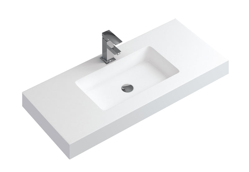 "DAX 40"" Single Vanity Top With Integrated Matte Basin (DAX-BAY401AMB)"