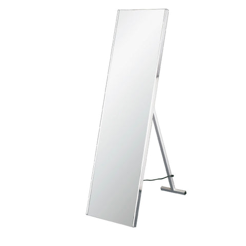 "DAX 64"" Freestanding Mirror - IR Motion sensor with supporting rack and plug. 64""x16.5"" (DAX-DL03A-S12160)"
