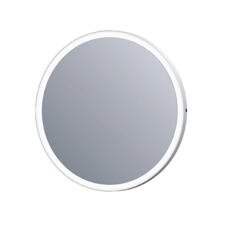 "32"" Round Mirror. MDF Back Reflected Light. IR Motion Sensor switch with magnify integrated (DAX-DL50-8080)"