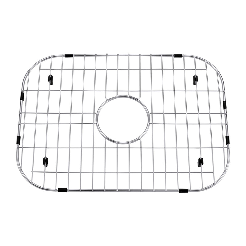 DAX Grid for Kitchen Sink, Stainless Steel Body, Chrome Finish, Compatible with DAX-OM2522, 19-1/2 x 15-1/4 Inches (GRID-OM2522)