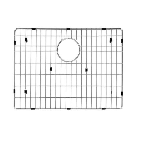 DAX Grid for Kitchen Sink, Stainless Steel Body, Chrome Finish, Compatible with DAX-SQ-2318, 21 x 16-1/4 Inches (GRID-SQ2318)