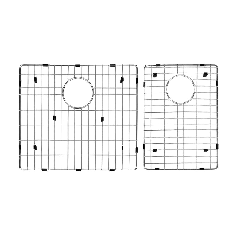 DAX Grid for Kitchen Sink, Stainless Steel Body, Chrome Finish, Compatible with DAX-SQ-2920, 17-1/2 x 14-3/4 Inches (GRID-SQ2920)